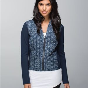 Like New Lululemon Cardigan and Again Athletic Top
